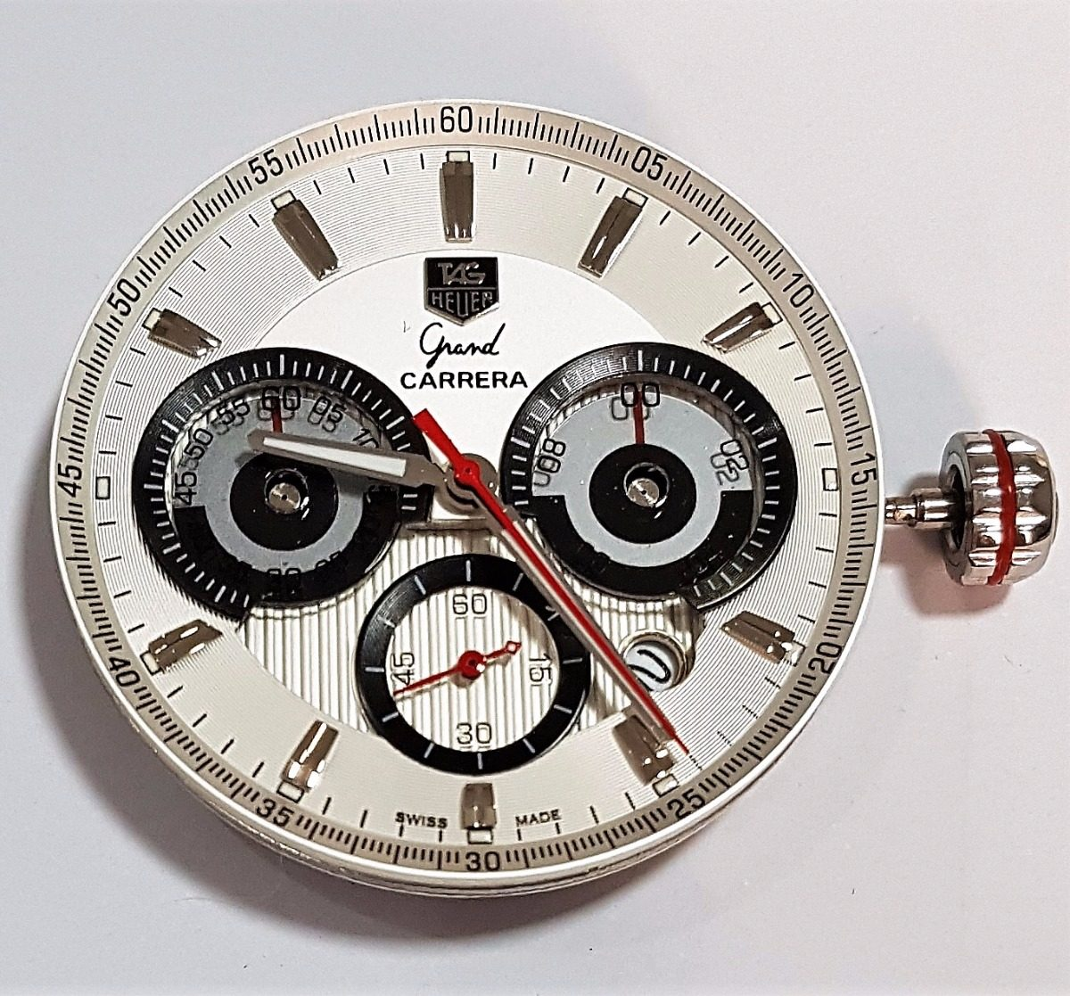 d7961718a6a máquina de relógio tag heuer miyota 6s20 grand carrera novo. Carregando  zoom.