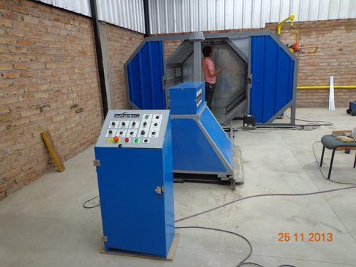 maquina de rotomoldeo,fabricacion a pedido