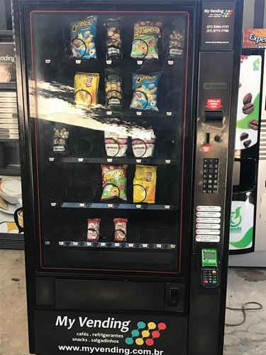 maquina de salgadinhos, snacks . polivending .