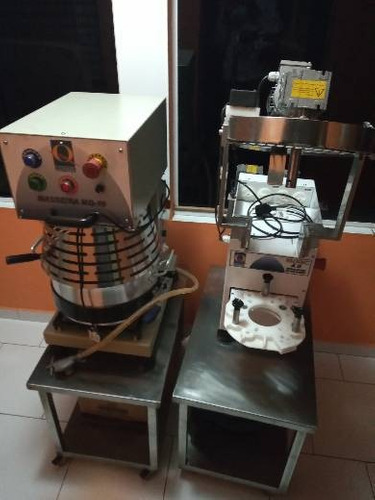 máquina de salgados e masseira