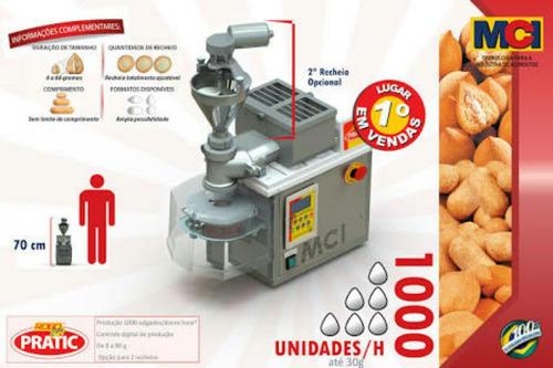 maquina de salgados salgadinhos coxinha nhoque kibe churros