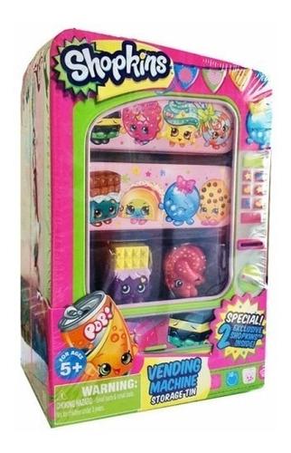 máquina de shopkins 2 shopkins exclusivos brinquedo dtc 3585