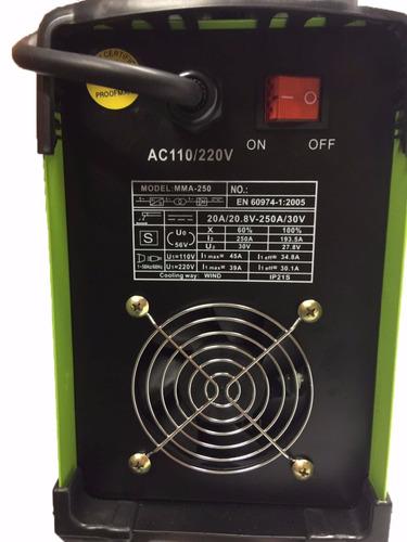 maquina de solda 250a tig elet inversora lift arc bivolt