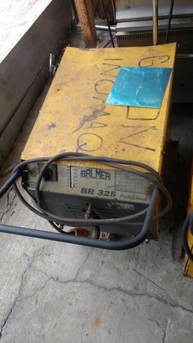 máquina de solda eletrodo trifásica balmer 325a