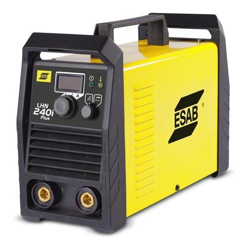 máquina de solda esab lhn 240i plus 220v - inversor 200a