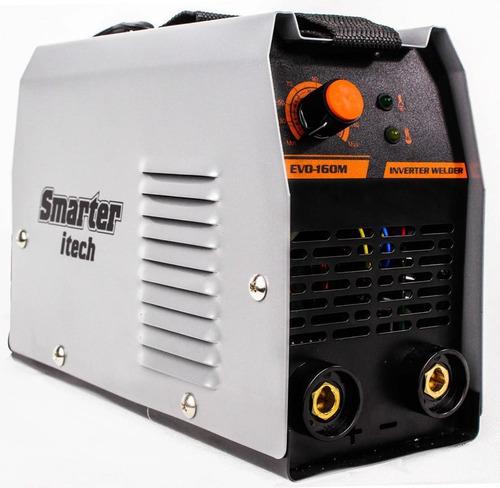 máquina de solda inversora 140a bivolt evo160m smarter
