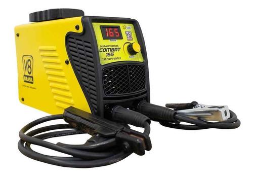 máquina de solda inversora 165 turbo mma bivolt v8 brasil