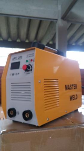 maquina de solda inversora 200amp reais 7018 4mm tig eletro