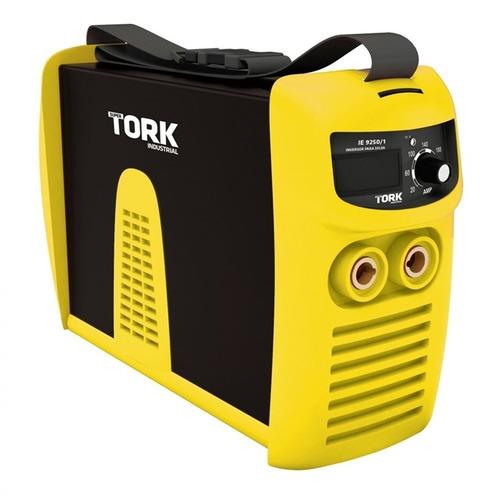 máquina de solda inversora 250a display digital tork - 220v