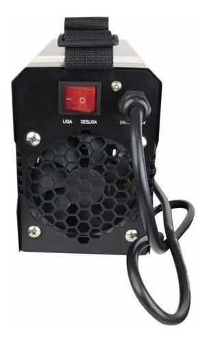 máquina de solda inversora digital 120a 220v isl-165 lynus