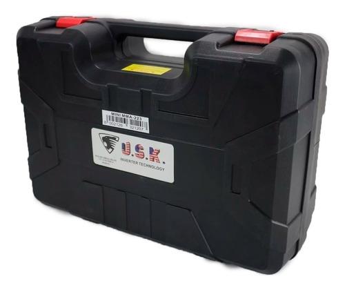 maquina de solda inversora mma-223 220v usk com maleta