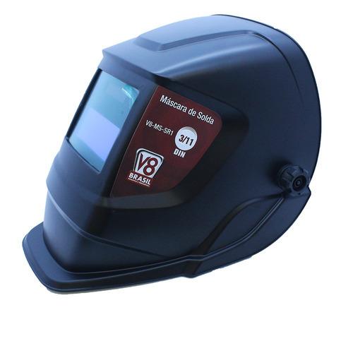 máquina de solda inversora twi180 bivolt terra + máscara aut