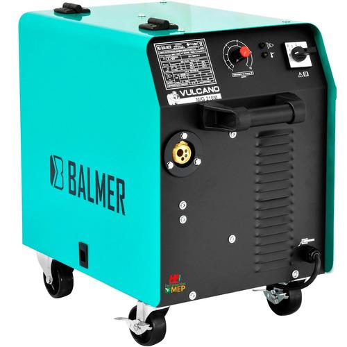 máquina de solda mig 127 v balmer 100 % fabricada no brasil