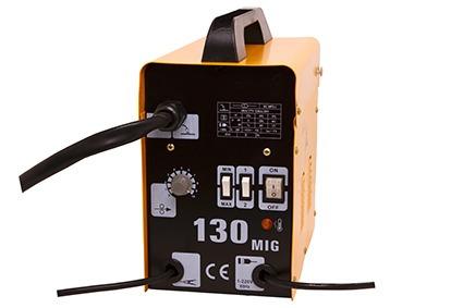máquina de solda mig 130 - 220v arame grátis + 2 arame extra