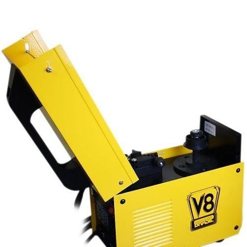 máquina de solda mig 130 v8 brasil sem uso de gás 220v
