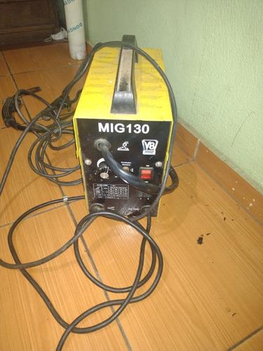 máquina de solda mig e eletrodo