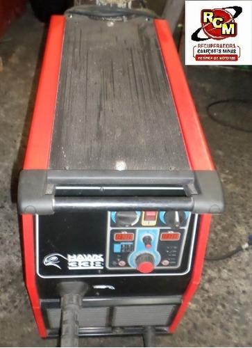 maquina de solda mig/mag hawk 338