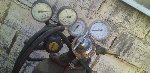 máquina de solda oxigênio