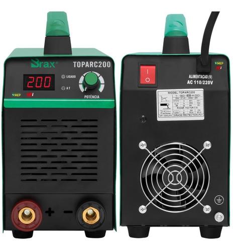 máquina de solda para eletrodo mma 200 amp portátil bx7