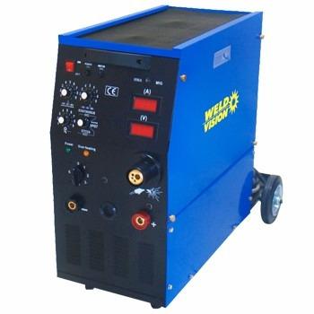 máquina de solda retificadora mig/eletrodo 250a  weld vision