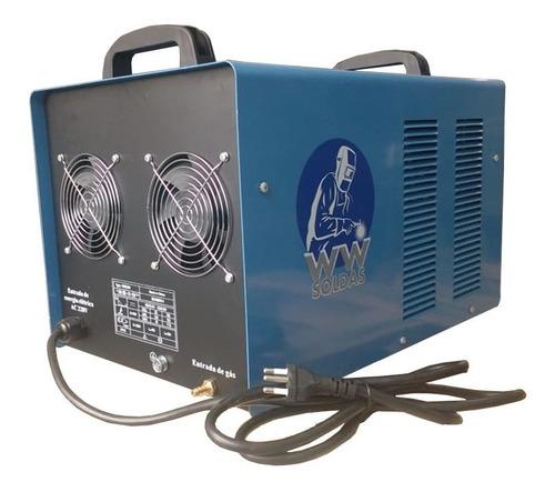 máquina de solda tig 250 acdc inversora para aluminio inox
