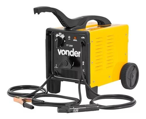 maquina de solda transformador tt2500 bivolt vonder promoção