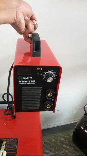 maquina de soldar 165 amp 4 kg