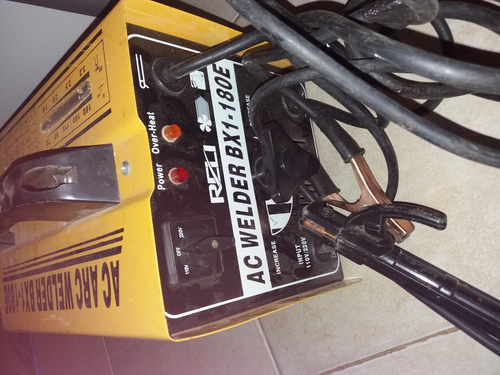 maquina de soldar ac welder bx1-180e