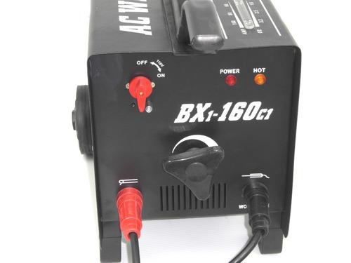 maquina de soldar de arco de 160 amp 110 v