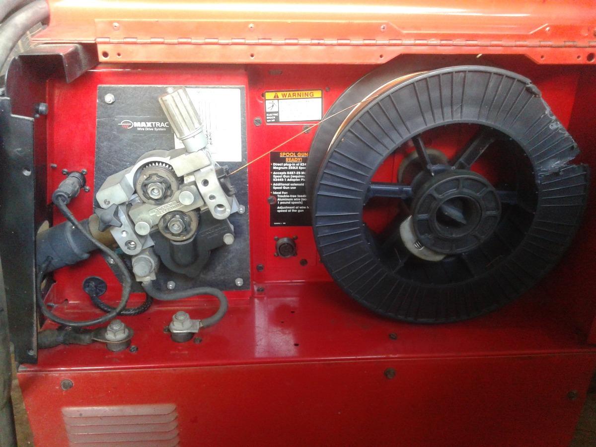 Maquina De Soldar Microwire Lincoln 255xt Powermig - Bs  2,10