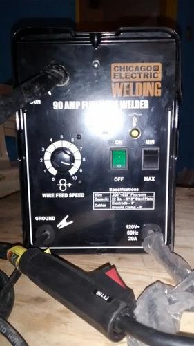 maquina de soldar mig chicago 90 amp 120 voltios
