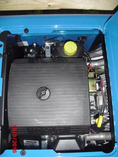 maquina de soldar miller con motor gasolina. bobcat 250
