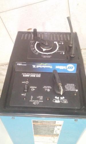 maquina de soldar miller thunderbolt xl 225/150 amp