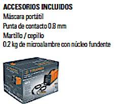maquina de soldar soldadora de microalambre c.d. 130 amp