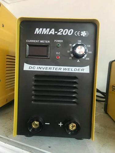 máquina de soldar spark mma-200 tecnología japonesa