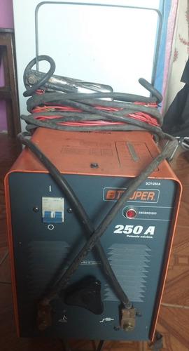 máquina de soldar truper 250 amp
