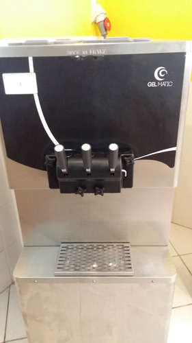 máquina de sorvete expresso gelmatic