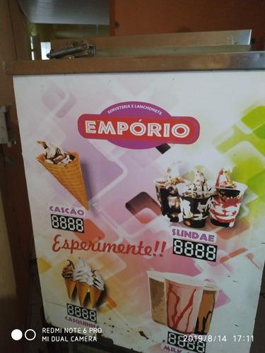 máquina de sorvete expresso italianinha