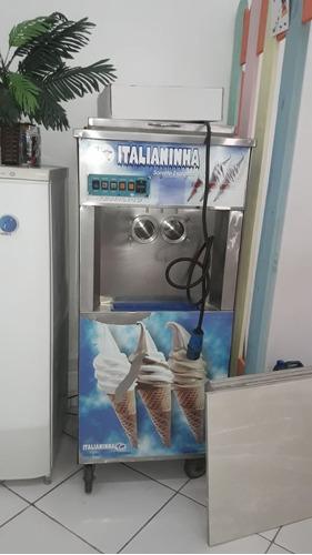 maquina de sorvete italiana