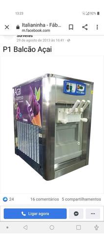 maquina de sorvete italiano