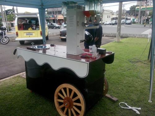 maquina de sorvetes americanos estilo vintage