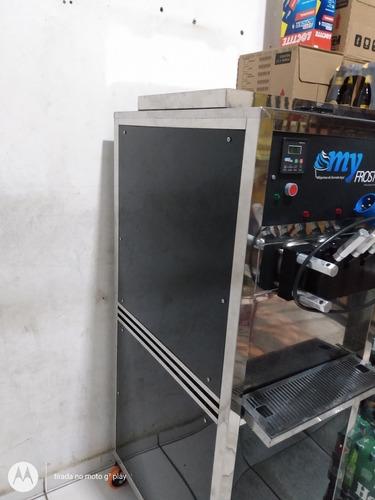 máquina de sorvetes casquinha 5 sabores