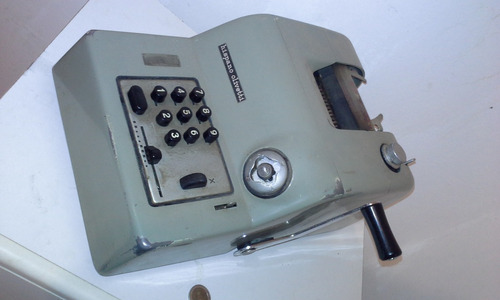 maquina de sumar hispano olivetti