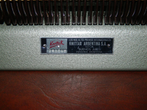maquina de tejer knittax con suplemento