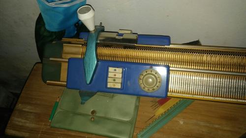 maquina de tejer magitex doble frontura
