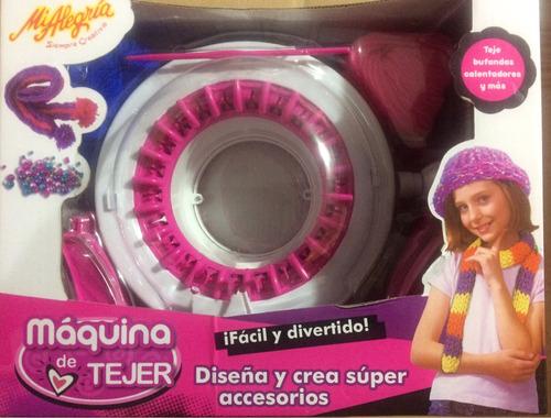 máquina de tejer mi alegría, juguetes