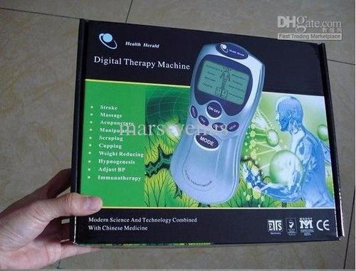 maquina de terapia muscular digital tonificador masajeador