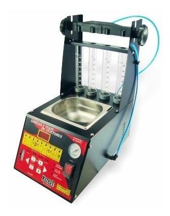máquina de teste e limpeza de bicos completa com cuba 1l ka