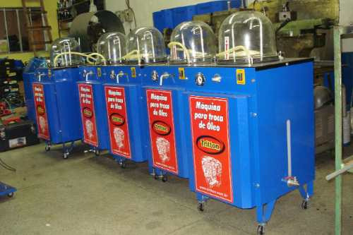 máquina de troca de óleo a vácuo - direto da fábrica