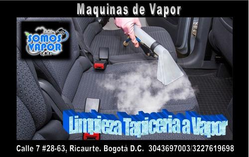 maquina de vapor limpieza